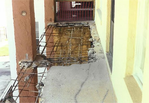 Repairs to Reinforced Concrete